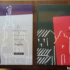 Libros de segunda mano: LOTE 2 LIBROS LES OBSERVACIONS DE CAVANILLES TOMO 2 Y 3 (BANCAIXA, 1995). Lote 169240504