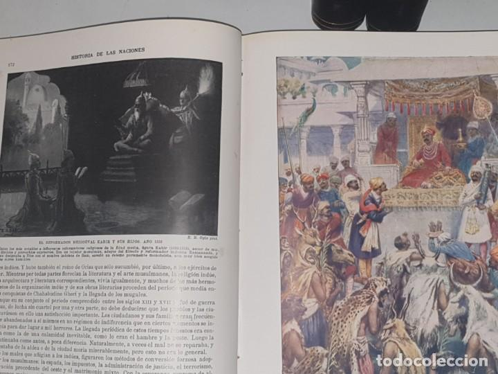 Libros de segunda mano: HISTORIA DE LAS NACIONES 4 V. EDITORIAL SEGUI - Foto 4 - 169727812