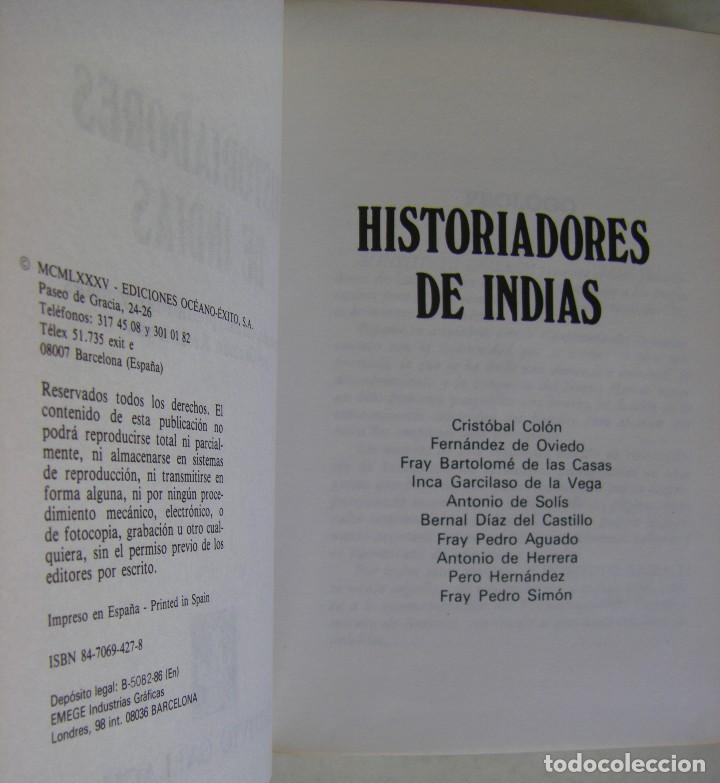 Libros de segunda mano: HISTORIADORES DE INDIAS. GERMAN ARCINIEGAS. GALLACH - Foto 4 - 169733656