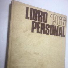 Libros de segunda mano: LIBRO PERSONAL DE RECUERDOS 1966. Lote 170053496