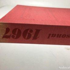 Libros de segunda mano: LIBRO PERSONAL DE RECUERDOS 1967. Lote 170053636