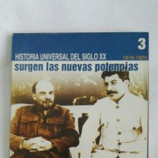 Libros de segunda mano: HISTORIA UNIVERSAL DEL SIGLO XX CD 3. Lote 170410508