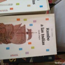 Libros de segunda mano: RUMBO A LAS INDIAS ·····GONZALO ZARAGOZA. Lote 170515688