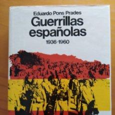 Libros de segunda mano: GUERRILLAS ESPAÑOLAS 1936.- 1960. Lote 170624295