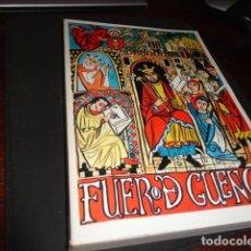 Libros de segunda mano: EL FUERO DE CUENCA - ALFREDO VALMAÑA VICENTE 1977 EDITORIAL TORMO MEDIDA 21 X 15 CM. 312 PG. . Lote 170662745