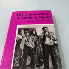 Libros de segunda mano: THE GENERATION OF 1898. Lote 171189123
