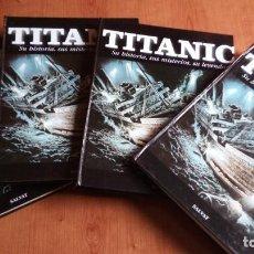 Libros de segunda mano: ENCICLOPEDIA TITANIC SALVAT - COMPLETA 4 TOMOS - SU HISTORIA, SUS MISTERIOS Y SU LEYENDA *IMPECABLE*. Lote 171434860