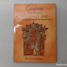 Libros de segunda mano: LA CONSOLIDACIÓN DE LA CORONA DE ARAGÓN : DESDE ALFONSO II HASTA LA MUERTE DE JAIME I POR LUIS GONZÁ. Lote 171555398