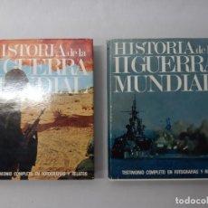 Libros de segunda mano: HISTORIA DE LA II GUERRA MUNDIAL. TESTIMONIO COMPLETO EN FOTOGRAFÍAS Y RELATOS. DOS TOMOS. POR P. G.. Lote 171555488