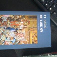 Libros de segunda mano: EL SIGLO DE LUIS XIV - VOLTAIRE (FRANÇOIS MARIE AROUET). Lote 171585250