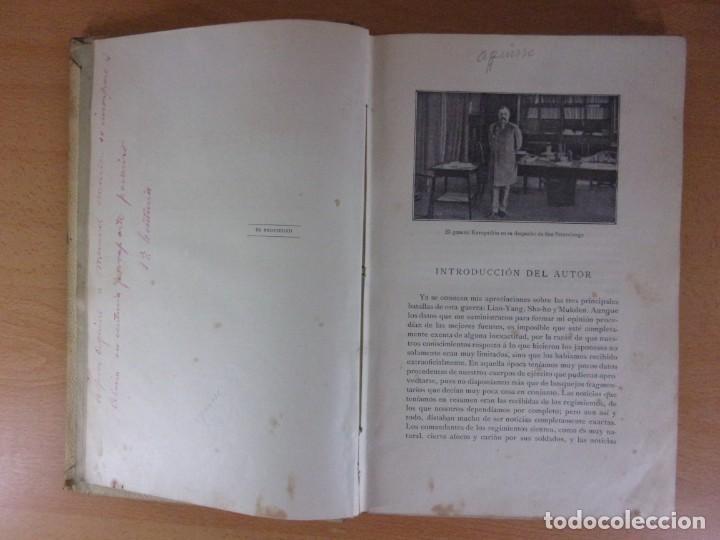 Libros de segunda mano: MEMORIAS DEL GENERAL KUROPATKIN. GUERRA RUSO-JAPONESA 1904-1905 / MONTANER Y SIMÓN. 1909. - Foto 3 - 171669834