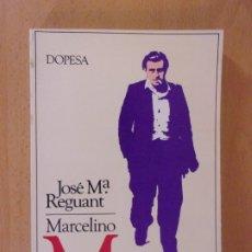 Libros de segunda mano: MARCELINO MASSANA ¿TERRORISMO O RESISTENCIA? / JOSÉ Mª REGUANT / 1979. DOPESA. Lote 172716204