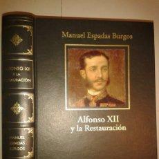 Livros em segunda mão: ALFONSO XII Y LOS ORÍGENES DE LA RESTAURACIÓN 2006 MANUEL ESPADAS BURGOS 1ª EDICIÓN RBA . Lote 172716343