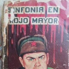 Libros de segunda mano: SINFONÍA EN ROJO MAYOR. 1968. JOSE LANDOWSKY.. Lote 173419793