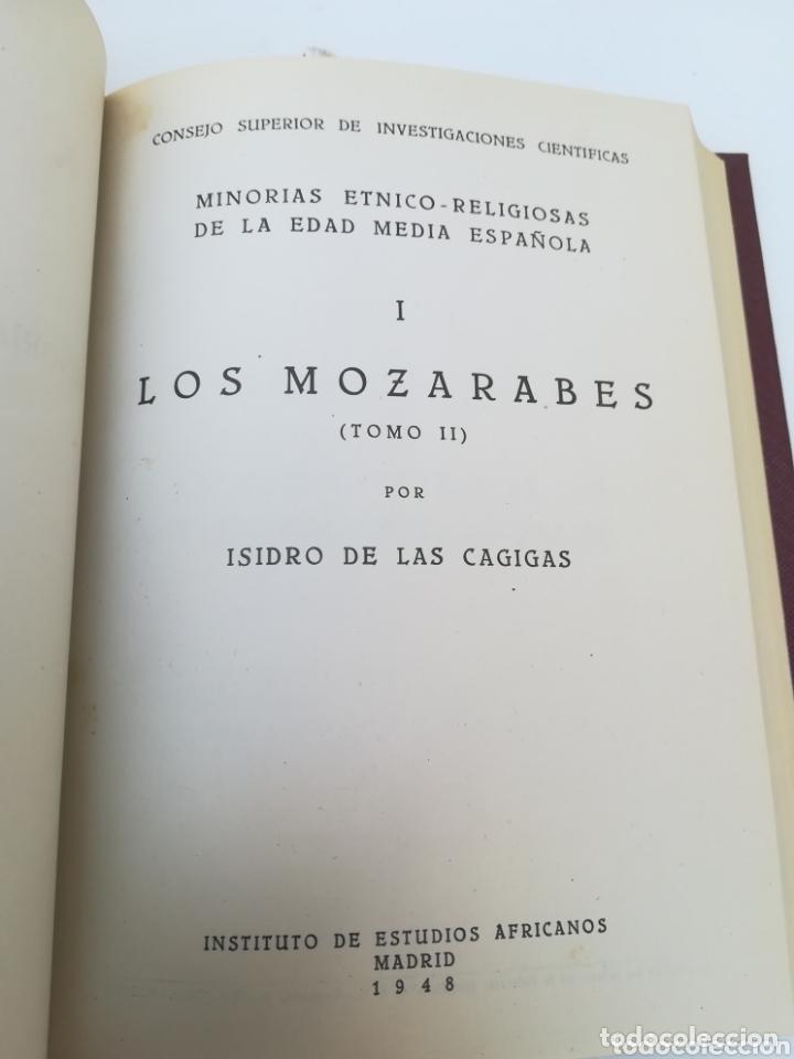 Libros de segunda mano: Los Mozárabes Minorías étnico Religiosas de la Edad Media Española por Isidro de las Garrigas - Foto 2 - 173932179