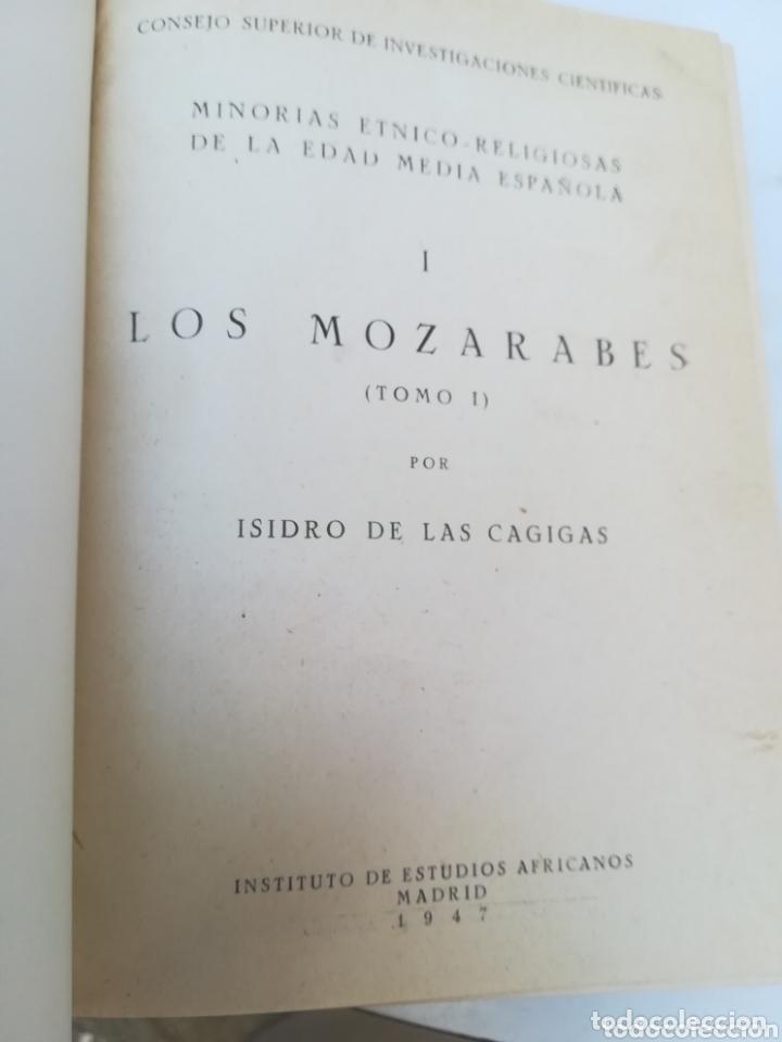 Libros de segunda mano: Los Mozárabes Minorías étnico Religiosas de la Edad Media Española por Isidro de las Garrigas - Foto 3 - 173932179
