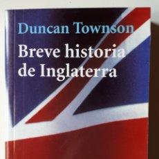 Libros de segunda mano: LIBRO BREVE HISTORIA DE INGLATERRA. Lote 174021278