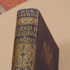 Libros de segunda mano: LIBRO HISTORIA DE INGLATERRA Y LOS INGLESES EDITORIAL SURGO. Lote 174186198