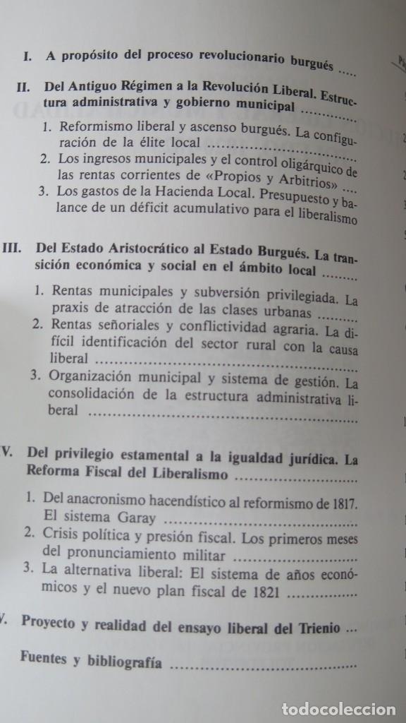 Libros de segunda mano: REVOLUCIÓN LIBERAL Y MUNICIPALIDAD. TOLEDO 1820 - 1823. LUIS TOLEDO - Foto 2 - 174381269