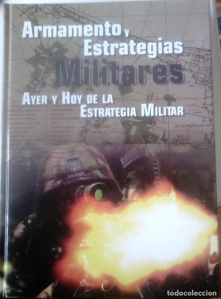 Libros de segunda mano: JOSÉ LUIS MURILLO PACHECO - ARMAMENTO Y ESTRATEGIAS MILITARES (3V) - Foto 2 - 170959230