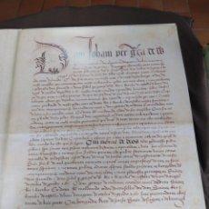 Libros de segunda mano: FACSÍMIL. TRATADO DE TORDESILHAS. OBRA CONMEMORATIVA DEL V ANIVERSARIO DEL REPARTO DEL MUNDO. 1994.. Lote 175590583