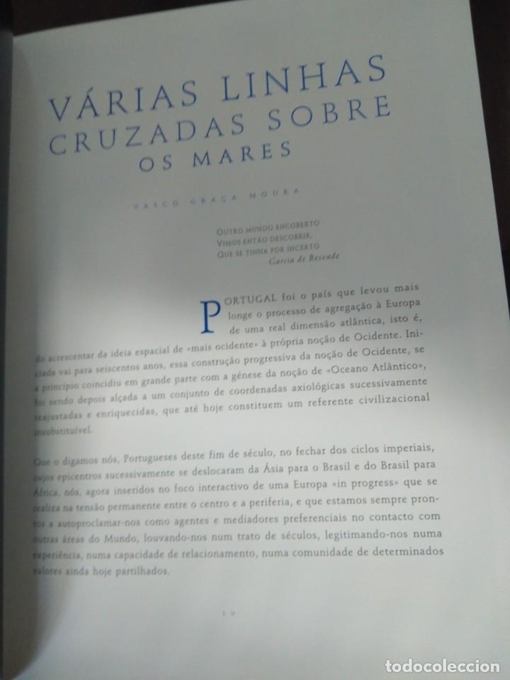 Libros de segunda mano: Facsímil. Tratado de Tordesilhas. Obra conmemorativa del V aniversario del reparto del mundo. 1994. - Foto 9 - 175590583