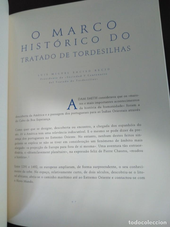 Libros de segunda mano: Facsímil. Tratado de Tordesilhas. Obra conmemorativa del V aniversario del reparto del mundo. 1994. - Foto 14 - 175590583