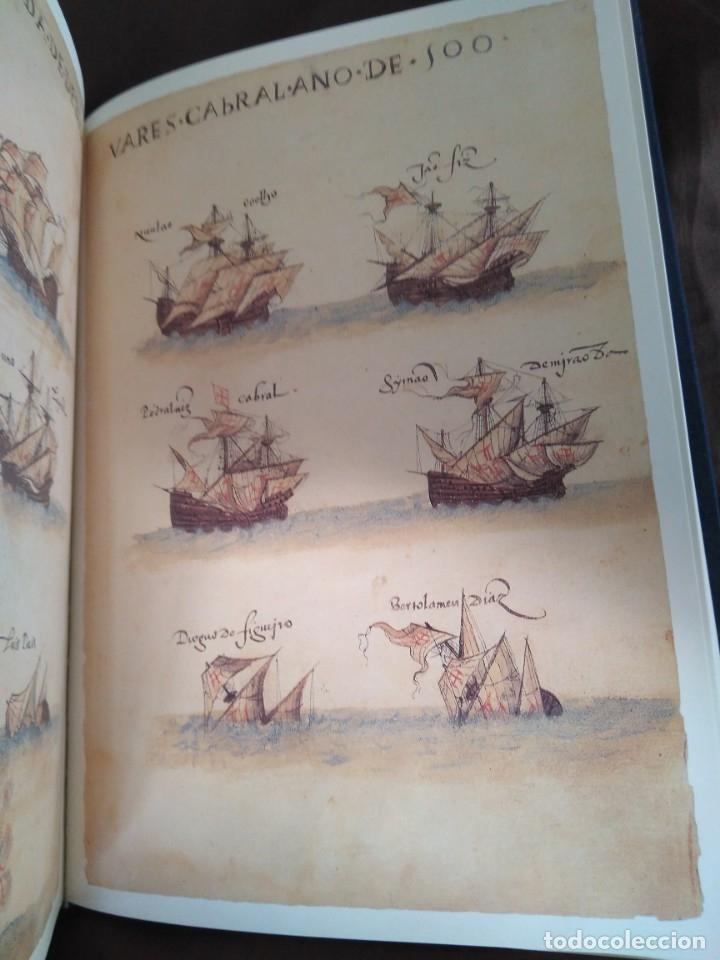 Libros de segunda mano: Facsímil. Tratado de Tordesilhas. Obra conmemorativa del V aniversario del reparto del mundo. 1994. - Foto 16 - 175590583