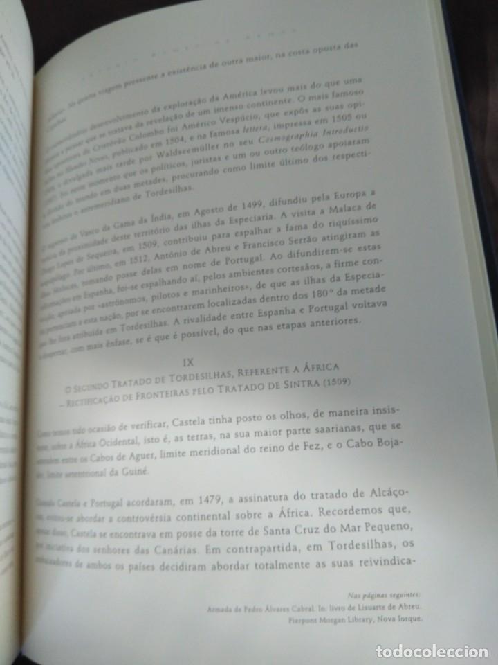 Libros de segunda mano: Facsímil. Tratado de Tordesilhas. Obra conmemorativa del V aniversario del reparto del mundo. 1994. - Foto 17 - 175590583