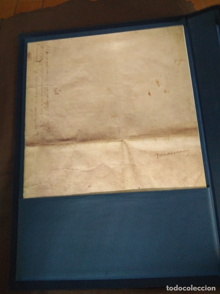 Libros de segunda mano: Facsímil. Tratado de Tordesilhas. Obra conmemorativa del V aniversario del reparto del mundo. 1994. - Foto 27 - 175590583