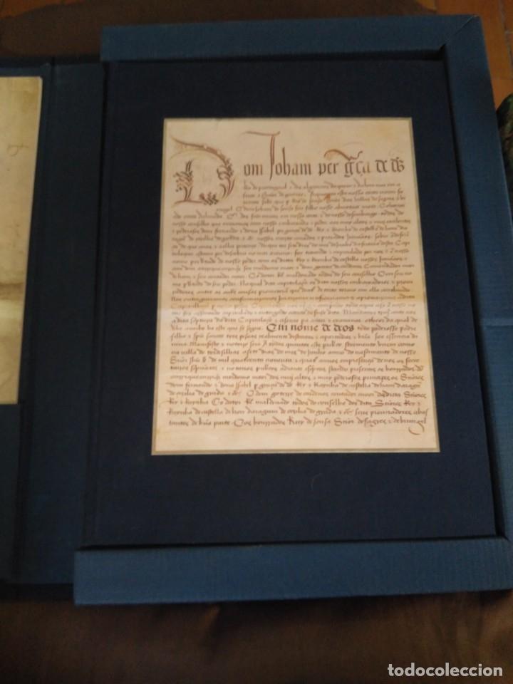 Libros de segunda mano: Facsímil. Tratado de Tordesilhas. Obra conmemorativa del V aniversario del reparto del mundo. 1994. - Foto 28 - 175590583