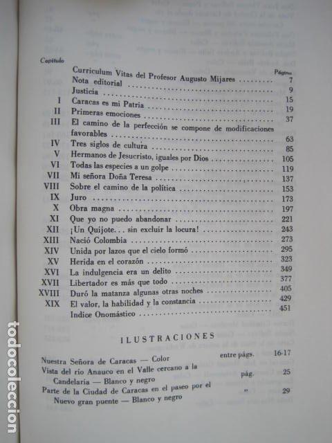 Libros de segunda mano: BIBLIOTECA SIMON BOLIVAR. COMPLETA, 12 TOMOS. AUGUSTO MIJARES Y JOSÉ GIL FORTOUL. 1977. - Foto 10 - 175679572