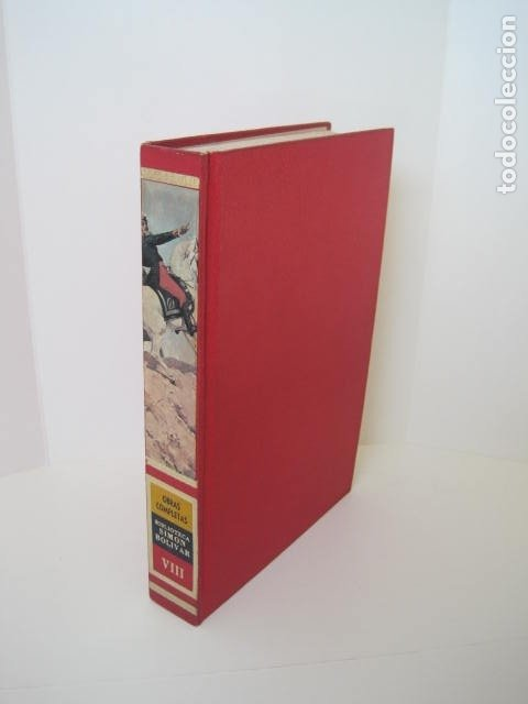Libros de segunda mano: BIBLIOTECA SIMON BOLIVAR. COMPLETA, 12 TOMOS. AUGUSTO MIJARES Y JOSÉ GIL FORTOUL. 1977. - Foto 28 - 175679572