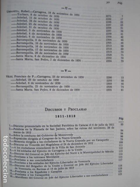 Libros de segunda mano: BIBLIOTECA SIMON BOLIVAR. COMPLETA, 12 TOMOS. AUGUSTO MIJARES Y JOSÉ GIL FORTOUL. 1977. - Foto 32 - 175679572