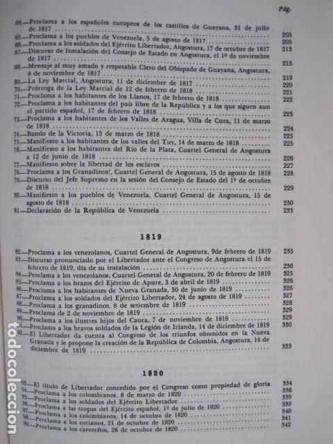 Libros de segunda mano: BIBLIOTECA SIMON BOLIVAR. COMPLETA, 12 TOMOS. AUGUSTO MIJARES Y JOSÉ GIL FORTOUL. 1977. - Foto 34 - 175679572