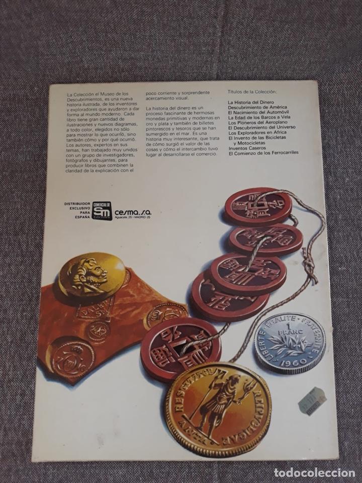 Libros de segunda mano: LA HISTORIA DEL DINERO. EDICIONES PLESA - Foto 3 - 176684802