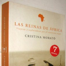 Libros de segunda mano: LAS REINAS DE AFRICA - CRISTINA MORATO - ILUSTRADO. Lote 176891972