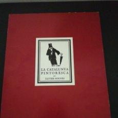 Libros de segunda mano: LA CATALUNYA PINTORESCA, PER XAVIER NOGUES FACSIMIL 1979. Lote 177213493