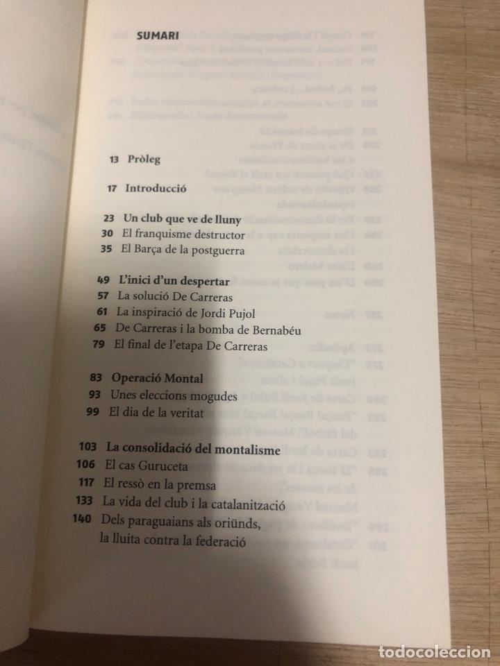 Libros de segunda mano: El barça i el franquisme - Foto 2 - 177672960