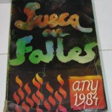 Libros de segunda mano: LIBRO FALLAS SUECA EN FALLES 1984, TERCER LLIBRET COLLECTIU. Lote 177693547