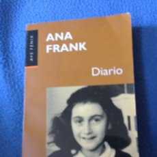 Libros de segunda mano: DIARIO-ANA FRANK-AVE FÉNIX.PLAZA JANES.. Lote 177715664
