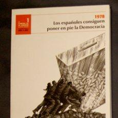 Libros de segunda mano: 1978 LOS ESPAÑOLES CONSIGUEN PONER EN PIE LA DEMOCRACIA 1 EL CAMINO DE LA LIBERTAD (1978-2008). Lote 177857572