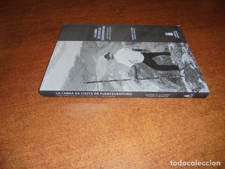 Libros de segunda mano: LA CABRA DE COSTA DE FUERTEVENTURA, UNA APROXIMACIÓN DESDE LA ETNOGRAFÍA- GUTIERREZ Y FREIVALDS 2018 - Foto 2 - 177945997