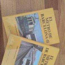 Libros de segunda mano: EL METRO DE BARCELONA. Lote 178261870