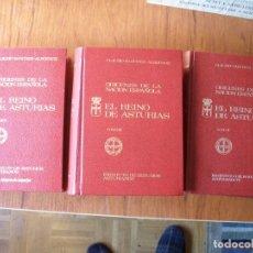 Libros de segunda mano: TRES TOMOS CLAUDIO SANCHEZ ALBORNOZ REINO DE ASTURIAS. Lote 178960900