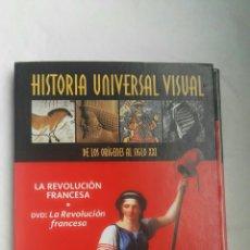 Libros de segunda mano: LA REVOLUCIÓN FRANCESA DVD+LIBRO. Lote 179025318