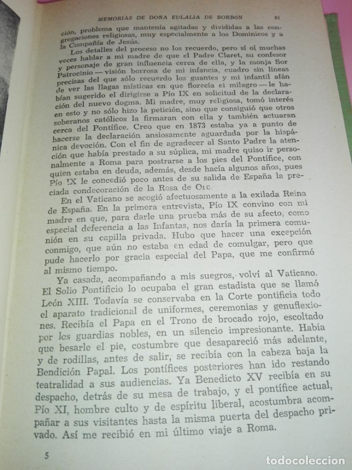 Libros de segunda mano: LIBRO-MEMORIAS DE DOÑA EULALIA DE BORBÓN INFANTA DE ESPAÑA-5ªEDICIÓN 1958-EDITORIAL JUVENTUD-EXCELEN - Foto 9 - 179207168