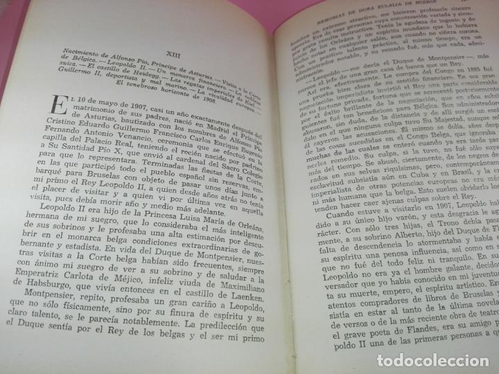 Libros de segunda mano: LIBRO-MEMORIAS DE DOÑA EULALIA DE BORBÓN INFANTA DE ESPAÑA-5ªEDICIÓN 1958-EDITORIAL JUVENTUD-EXCELEN - Foto 10 - 179207168