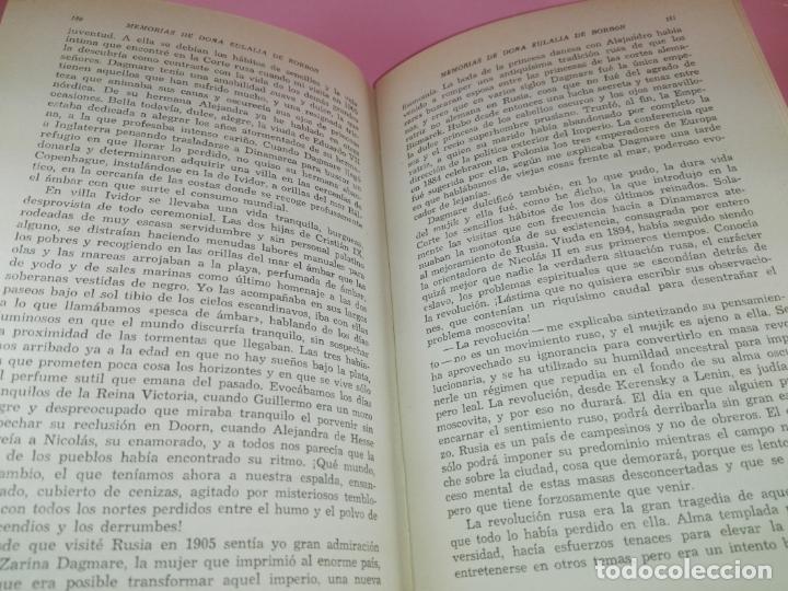Libros de segunda mano: LIBRO-MEMORIAS DE DOÑA EULALIA DE BORBÓN INFANTA DE ESPAÑA-5ªEDICIÓN 1958-EDITORIAL JUVENTUD-EXCELEN - Foto 11 - 179207168