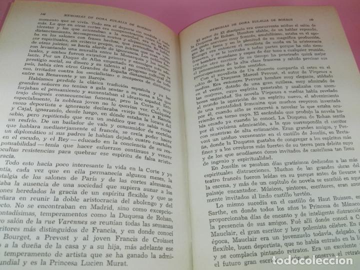 Libros de segunda mano: LIBRO-MEMORIAS DE DOÑA EULALIA DE BORBÓN INFANTA DE ESPAÑA-5ªEDICIÓN 1958-EDITORIAL JUVENTUD-EXCELEN - Foto 12 - 179207168